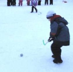 Малые зимние олимпийские игры в детском саду 26, город Кириши